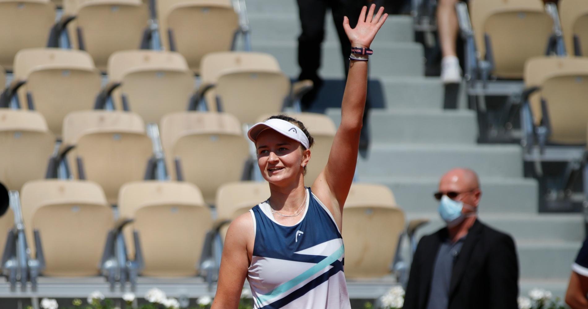 Barbora Krejcikova, Roland-Garros