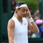 Caroline Garcia at Wimbledon in 2019