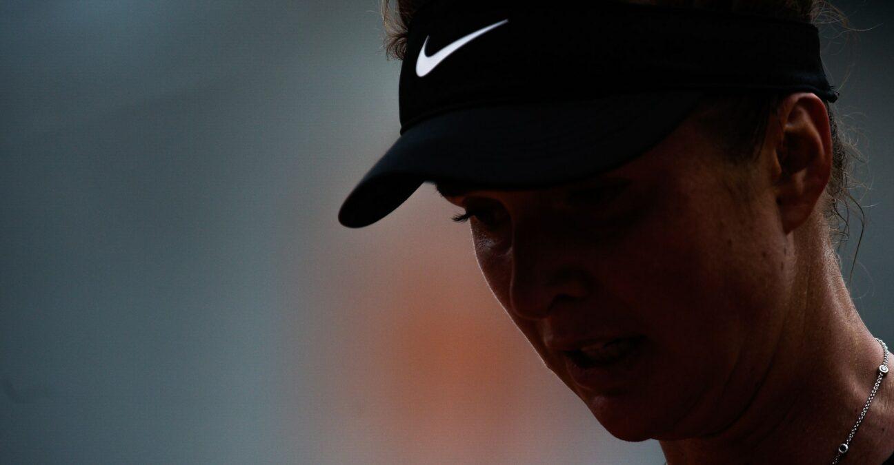 Elina Svitolina at Roland-Garros in 2021