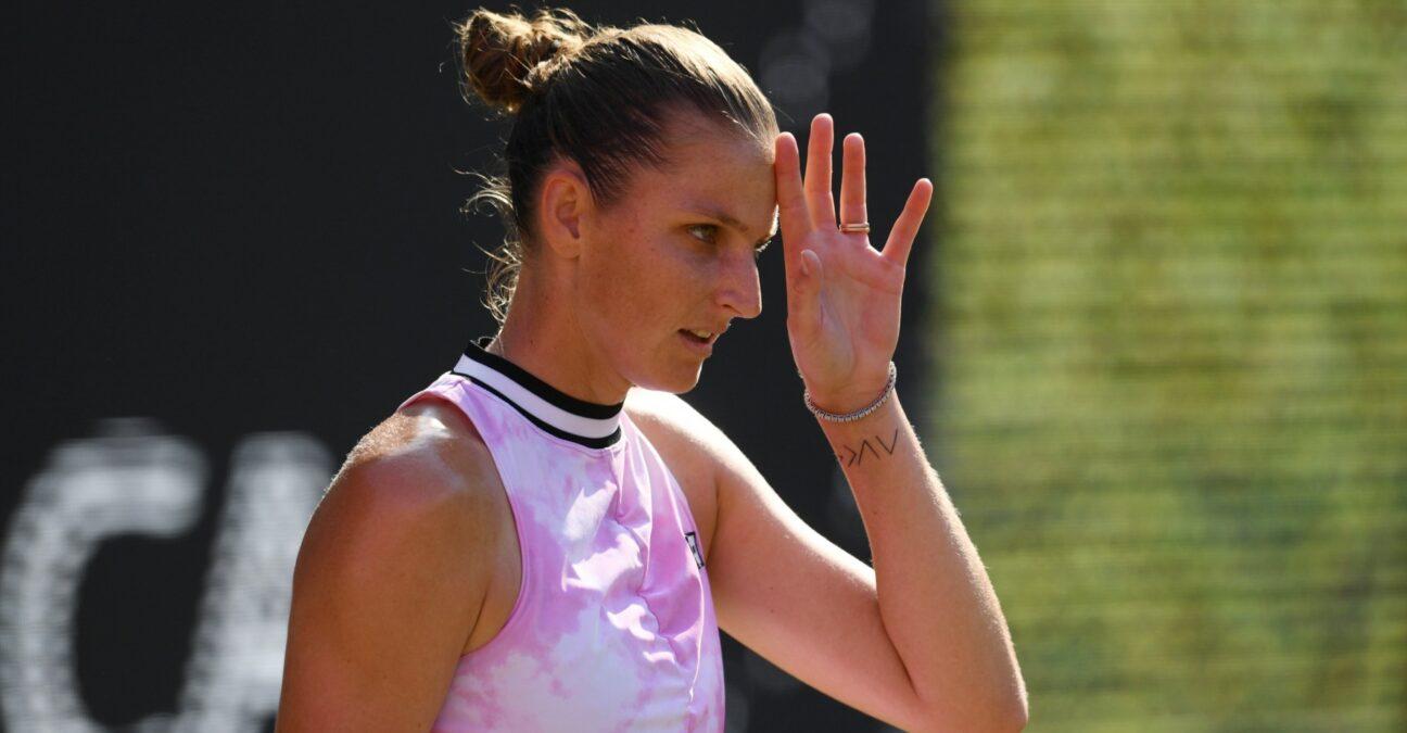 Karolina Pliskova at Berlin in 2021