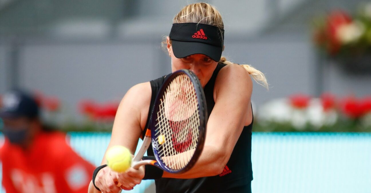 Kristina Mladenovic at Roland-Garros in 2021