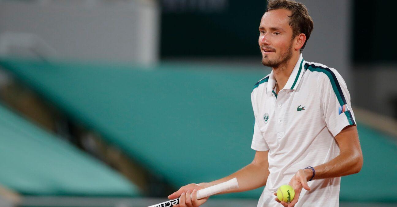 Medvedev Roland Garros 2021 Panoramic