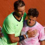 Rafael Nadal et Diego Schwartzman, Roland-Garros 2021