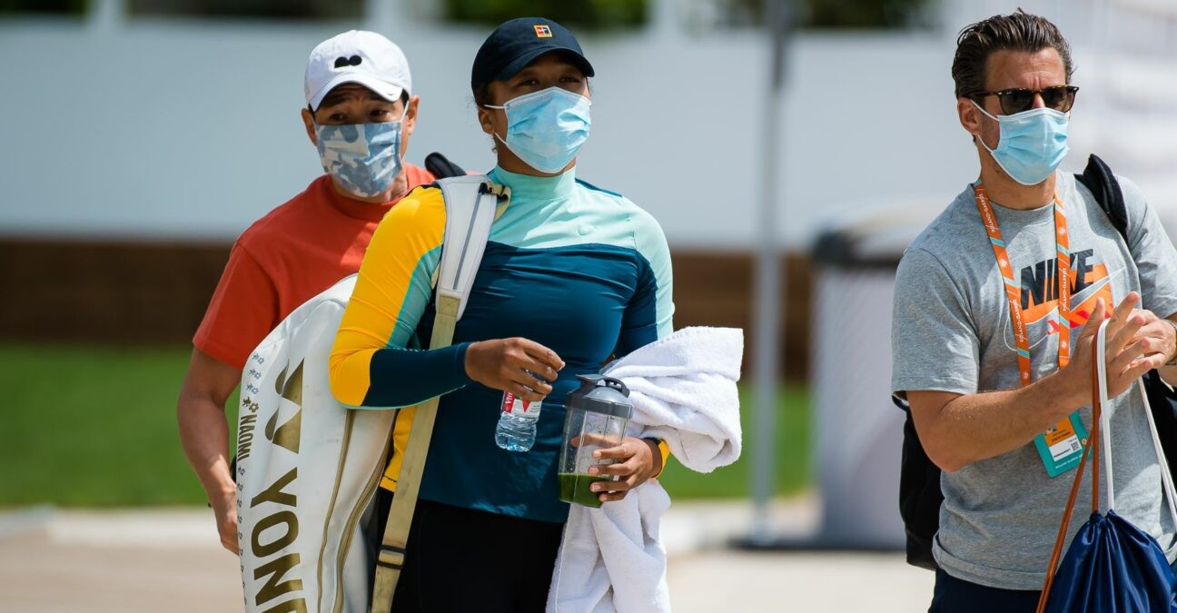 Naomi Osaka at Roland-Garros in 2021