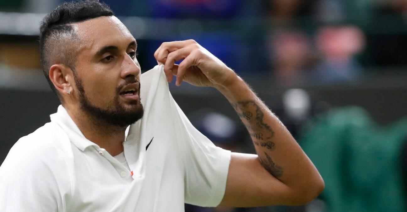 Nick Kyrgios, Wimbledon 2021