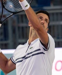 Novak Djokovic at Mallorca in 2021