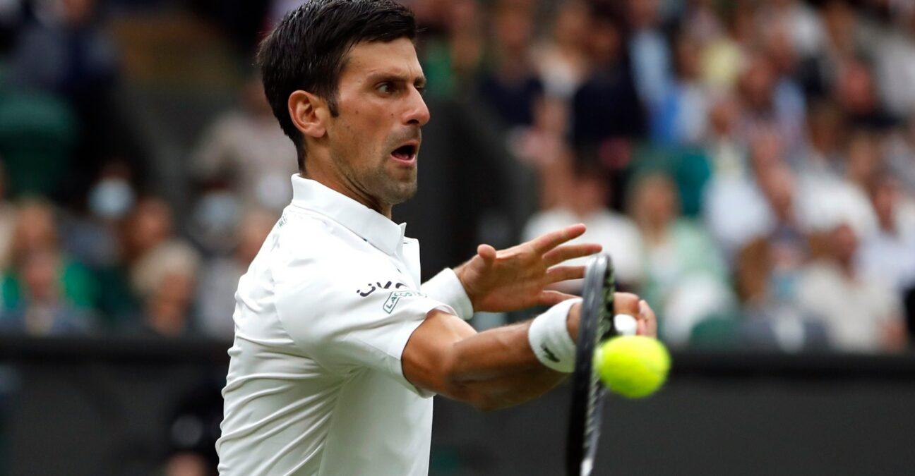 Novak Djokovic, Wimbledon 2021