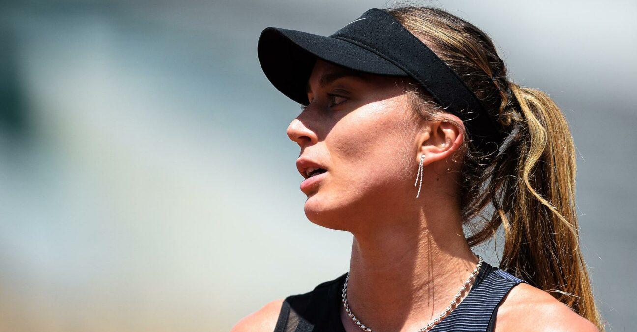 Paula Badosa at Roland-Garros in 2021