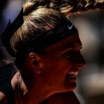 Petra Kvitova at Roland-Garros in 2021