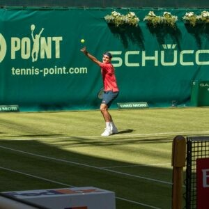 Roger Federer, Halle 2021