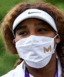 Serena Williams at Wimbledon in 2021