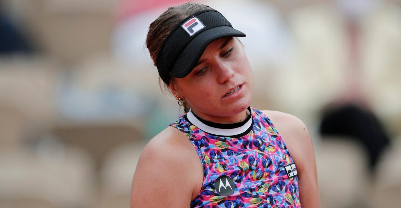Sofia Kenin at Roland-Garros in 2021