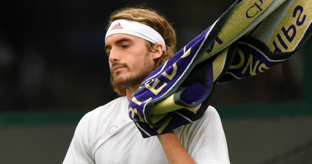Stefanos Tsitsipas, Wimbledon 2021