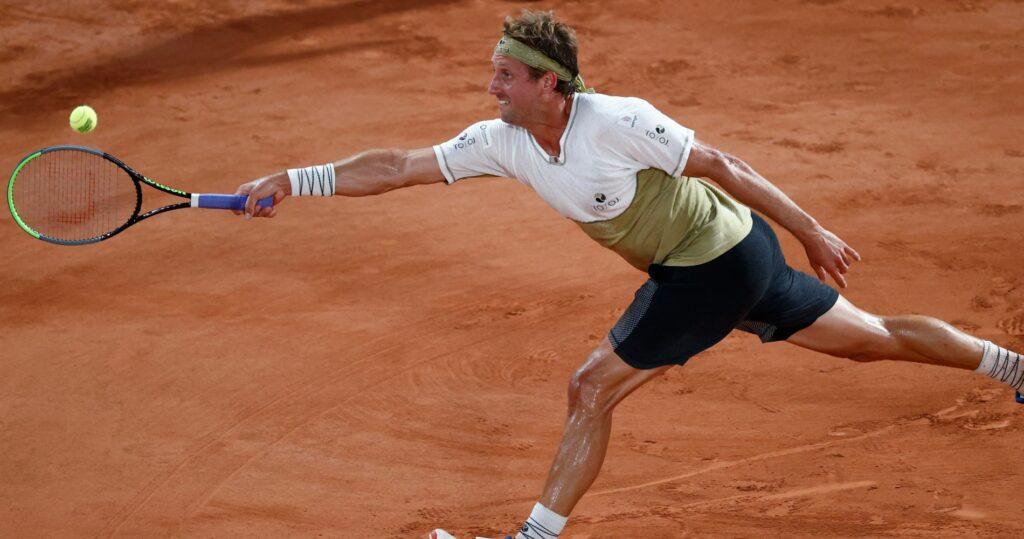 Tennys Sandgren at Roland-Garros in 2021