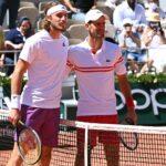 Tsitsipas et Djokovic, Roland-Garros 2021
