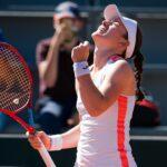Tamara Zidansek, Roland-Garros