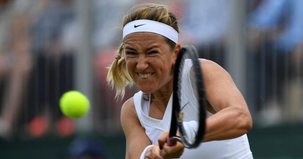 Victoria Azarenka at Wimbledon in 2021