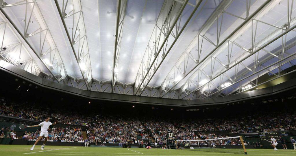 Wimbledon's Centre Court in 2012