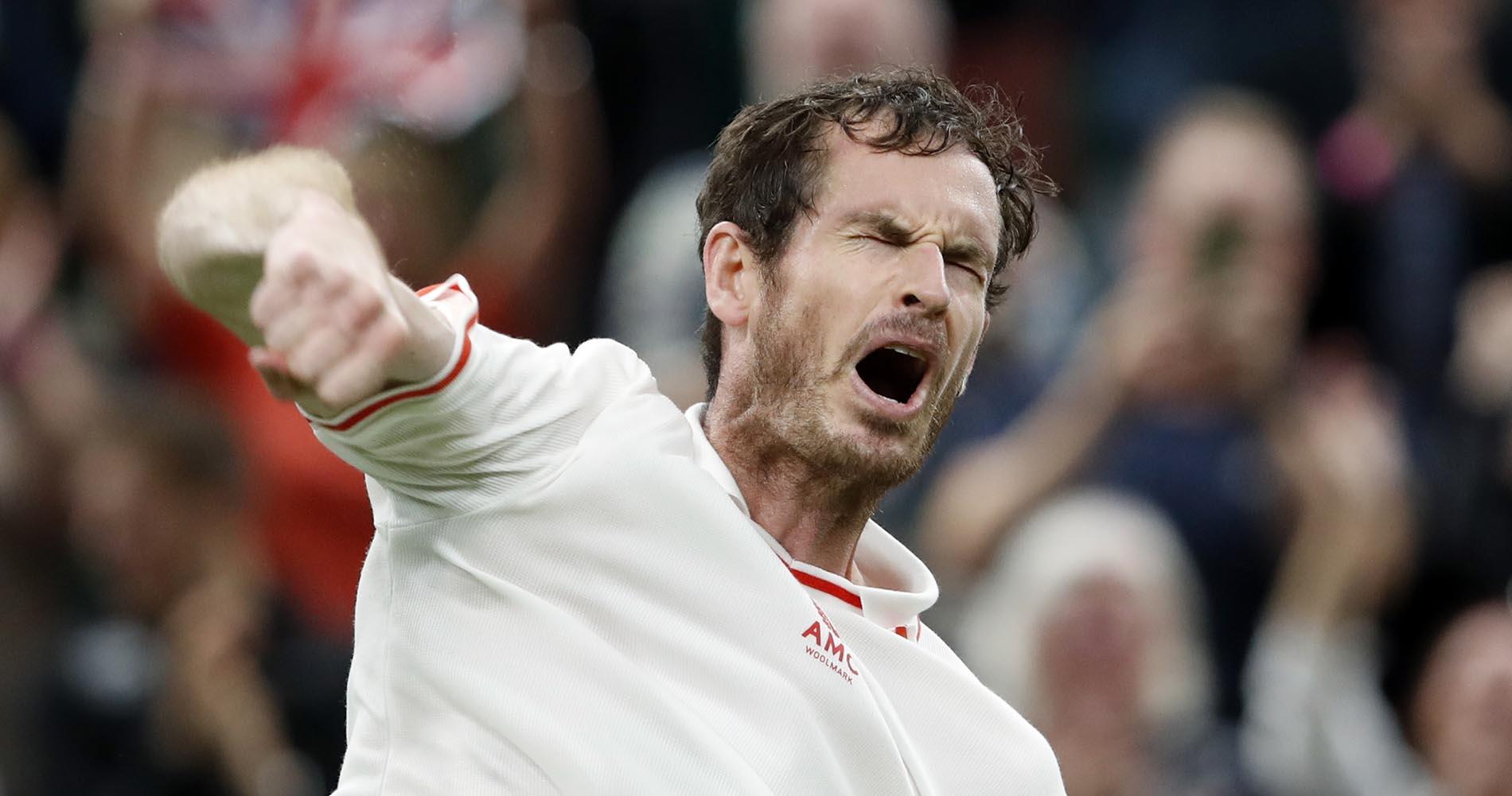 Andy Murray Wimbledon 2021