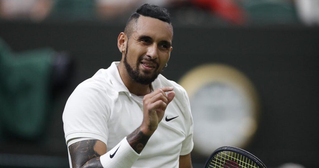 Nick Kyrgios Wimbledon Round 1
