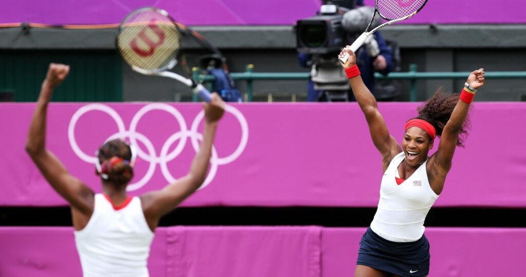 Serena et Venus Williams, sacrée aux Jeux olympiques de Londres en 2012