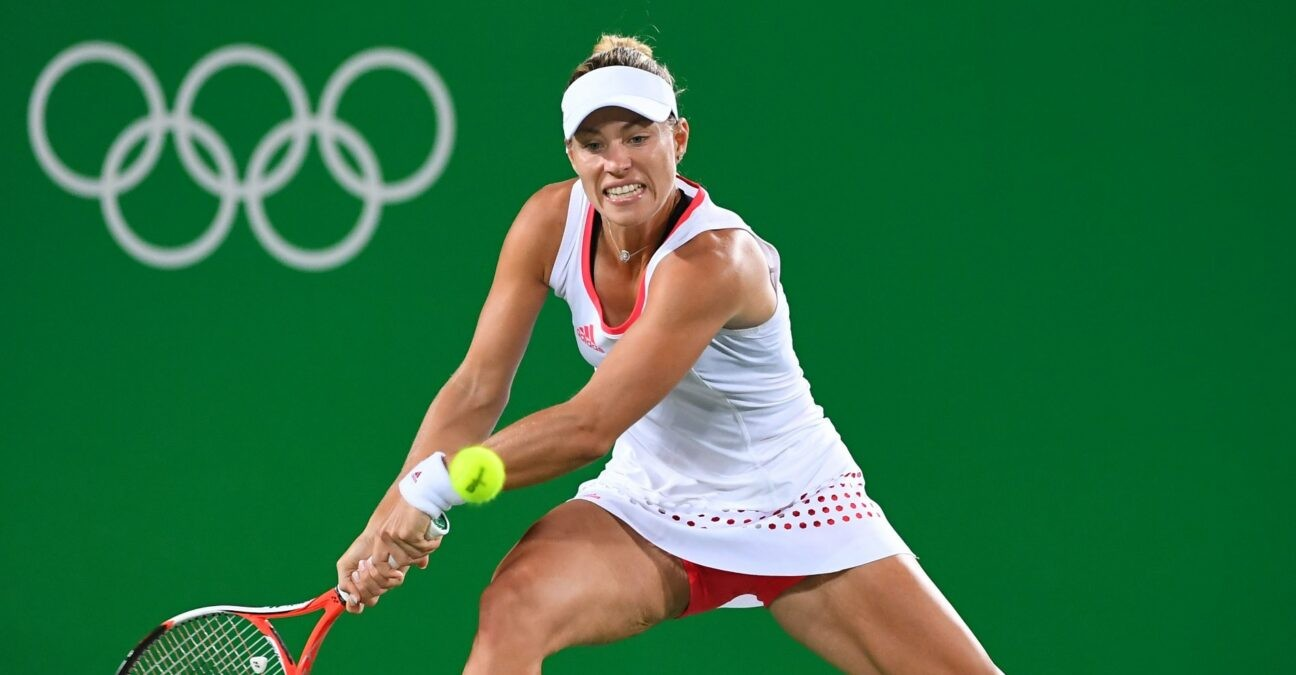 Angelique Kerber at Rio Olympics in 2016