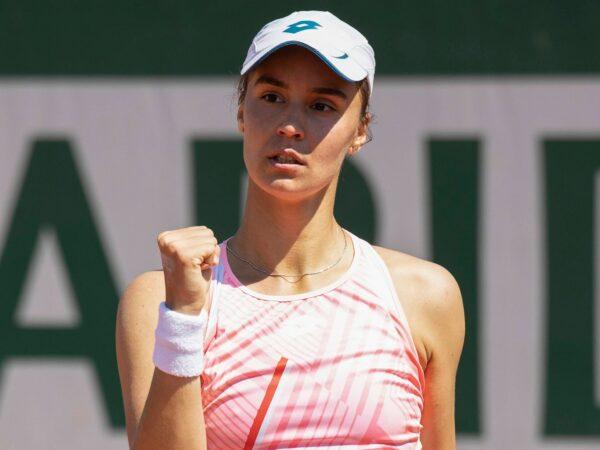 Anhelina Kalinina at Roland-Garros in 2021