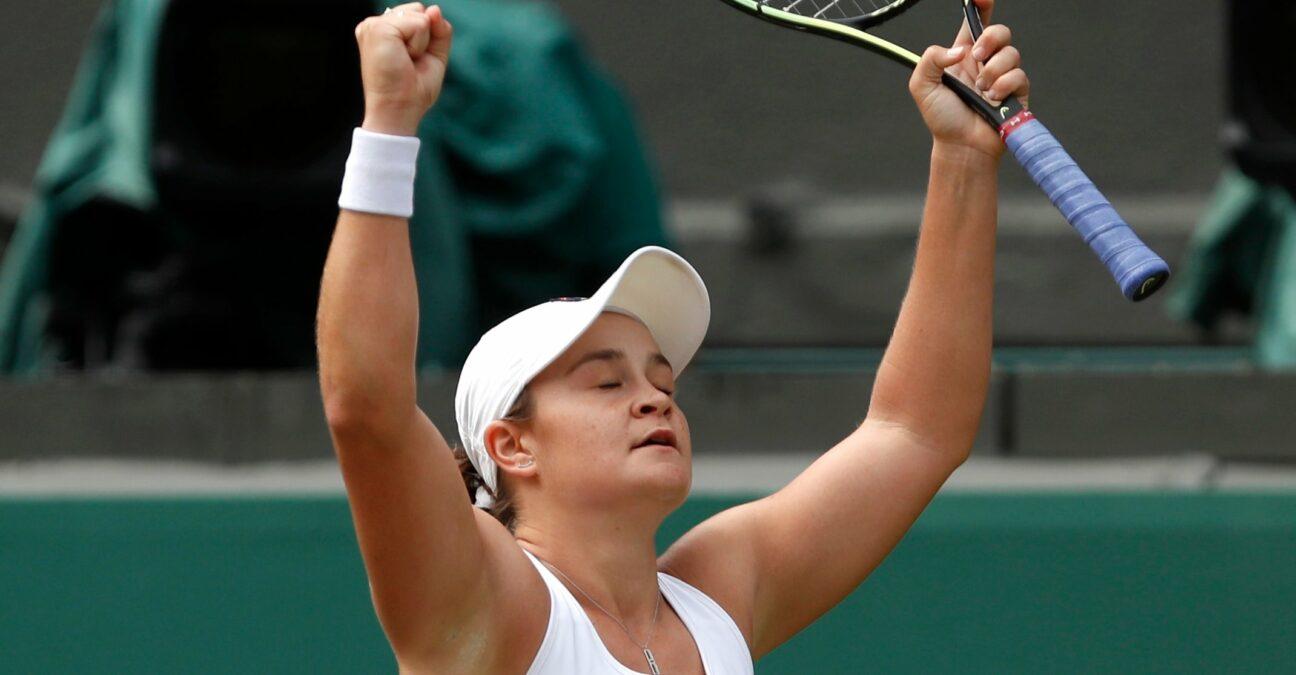 Ash Barty Wimbledon 2021