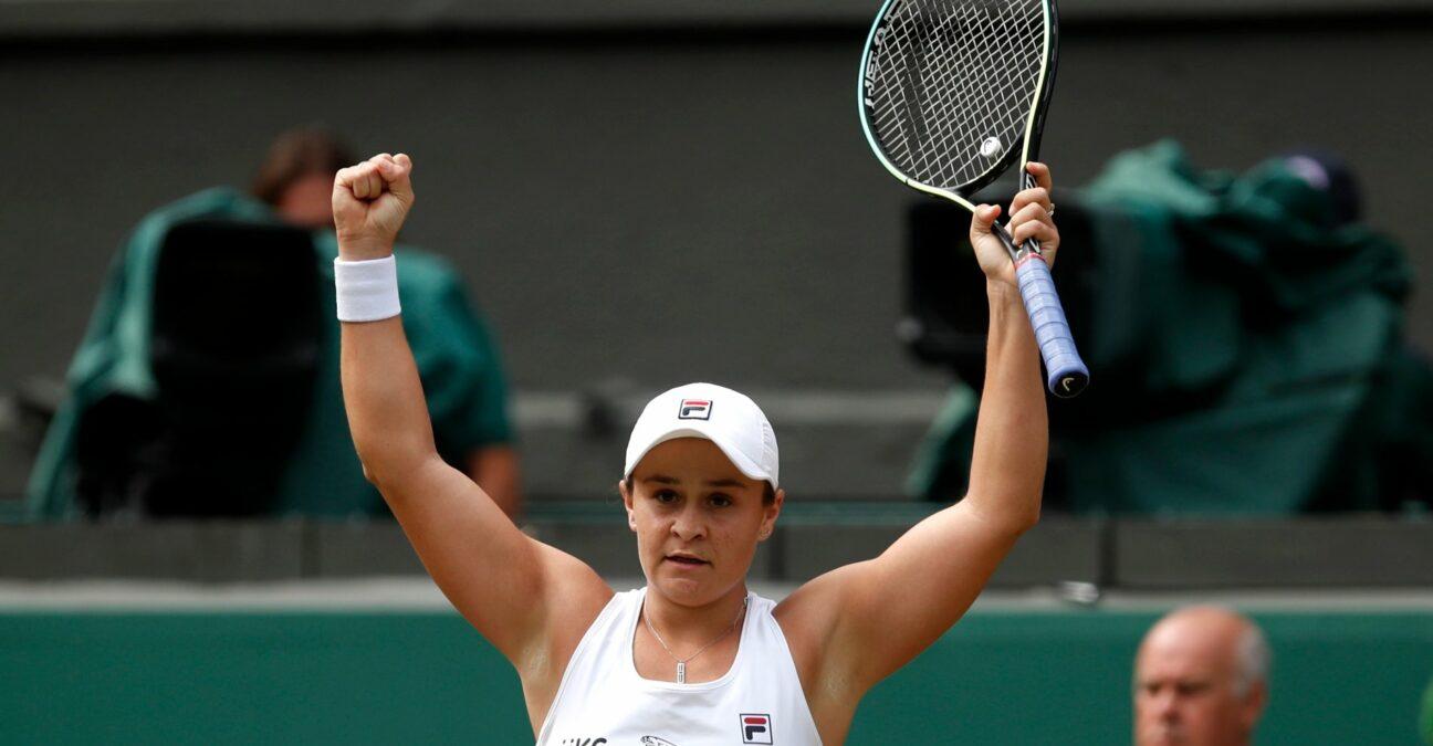Ashleigh Barty, Wimbledon 2021