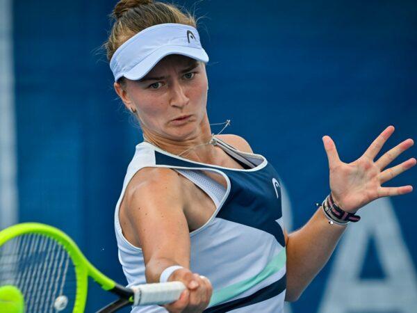 Barbora Krejcikova at Prague in 2021