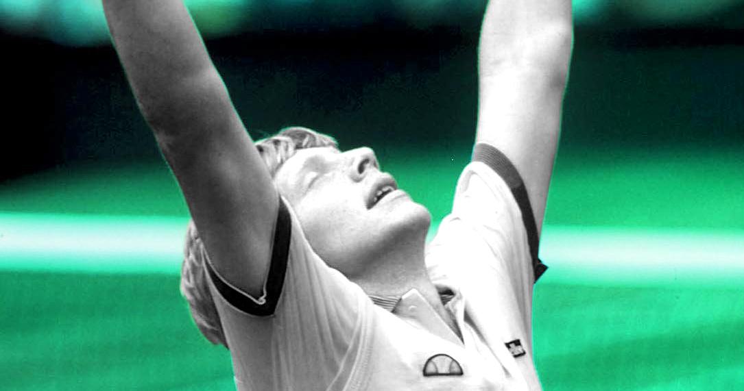 Boris Becker, vainqueur de Wimbledon 1985, OTD 07/07