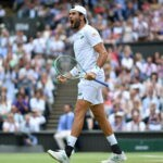 Matteo Berrettini, vainqueur den demi-finale de Wimbledon 2021