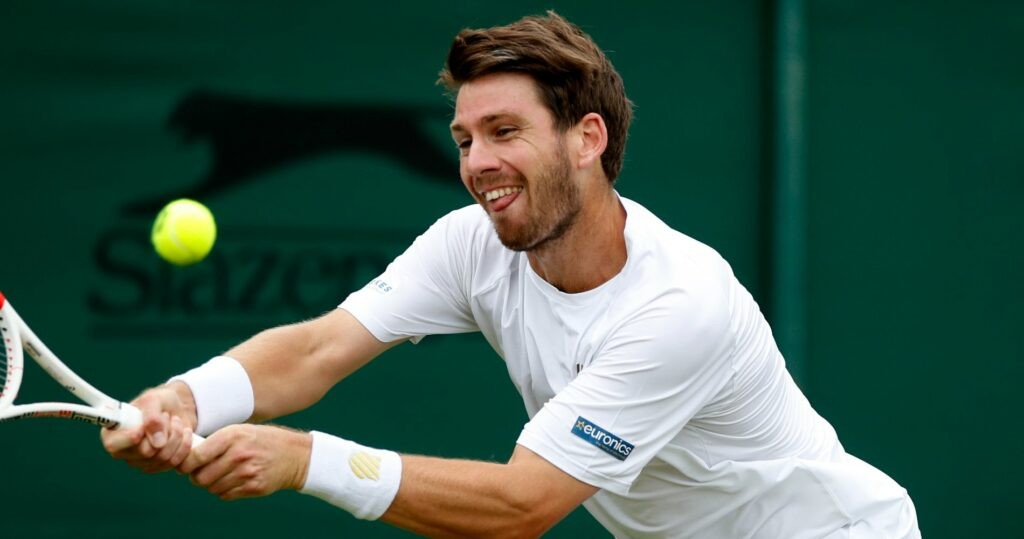Cameron Norrie at Wimbledon in 2021
