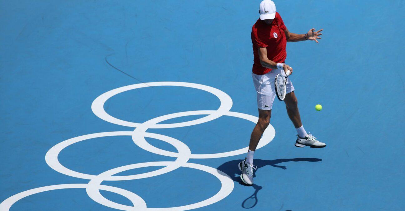 Daniil Medvedev, Jeux Olympiques Tokyo 2020