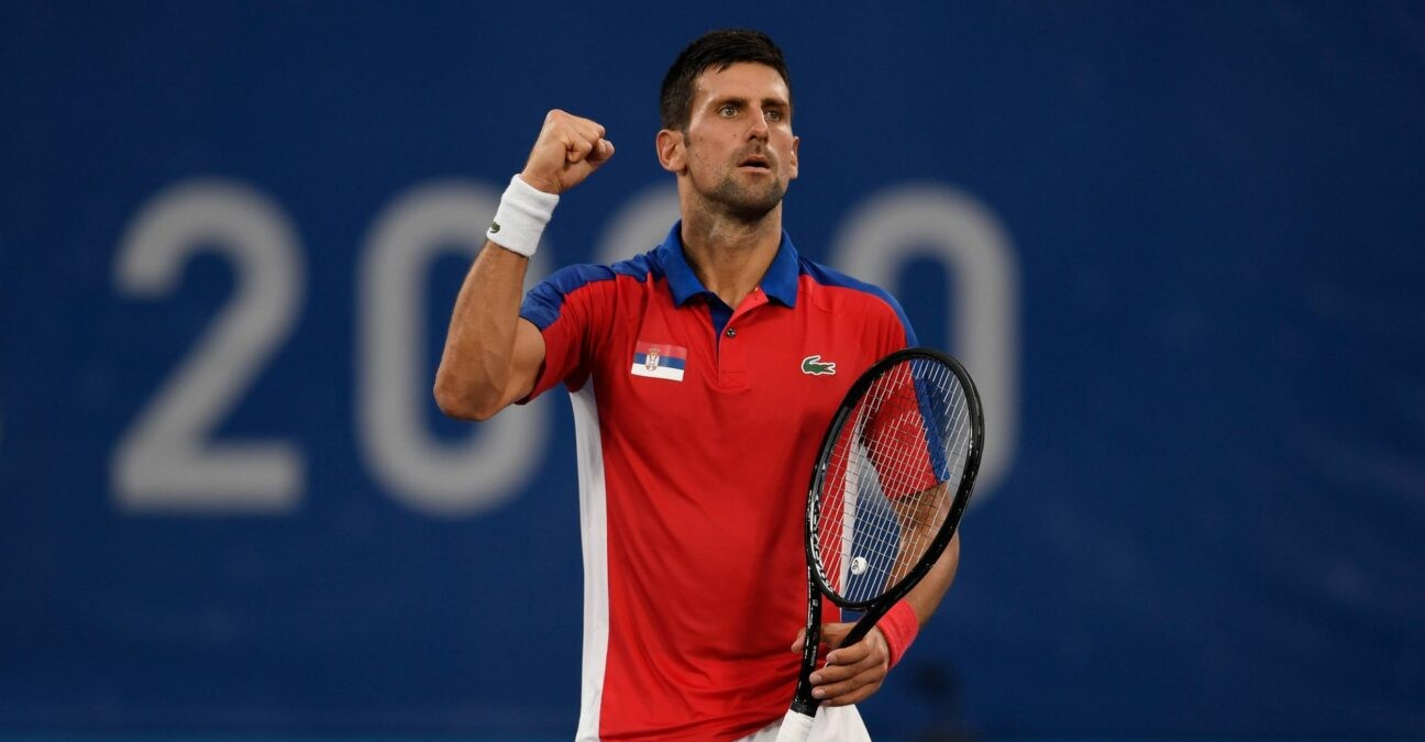 Novak Djokovic SRB Photo at the Tokyo Olympics