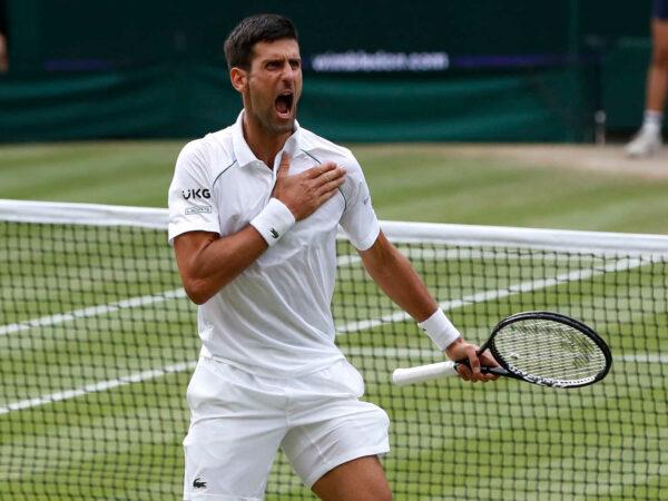 Djokovic 2021 Wimbledon