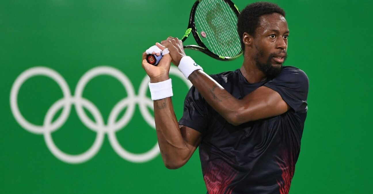 Gaël Monfils at Rio Olympics in 2016