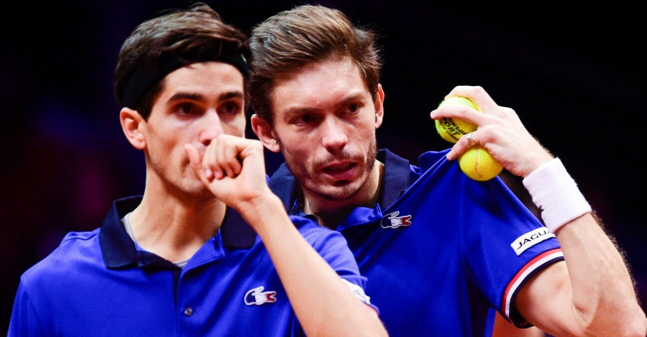 Pierre-Hugues Herbert & Nicolas Mahut, Davis Cup in 2018