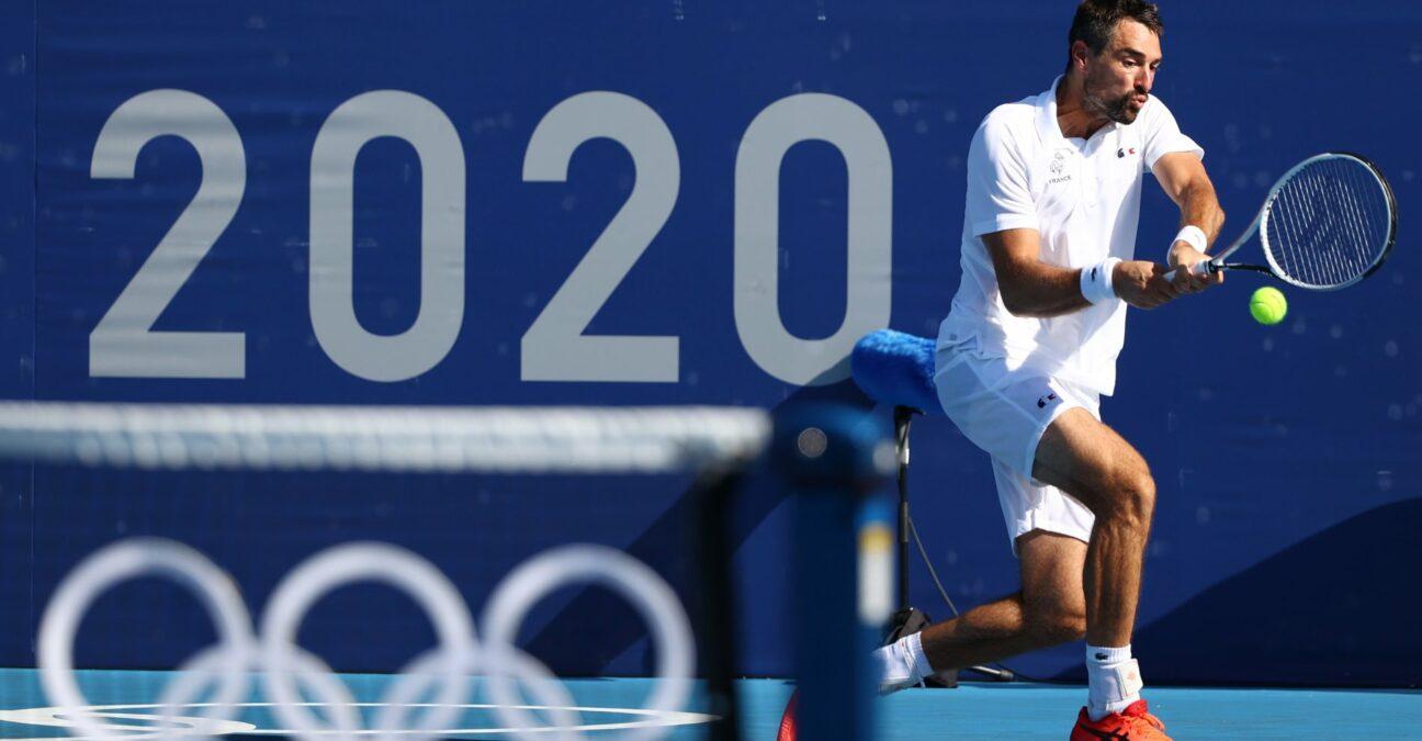 Jérémy Chardy, Jeux olympiques Tokyo 2020