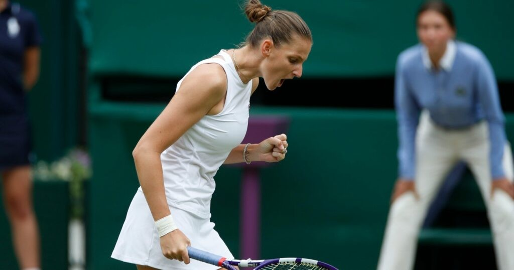 Karolina Pliskova, Wimbledon 2021