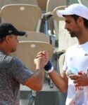 Novak Djokovic (SRB) Marian Vajda (SRB)
