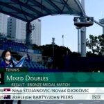 Djokovic pulls out of the mixed doubles at Tokyo Olympics