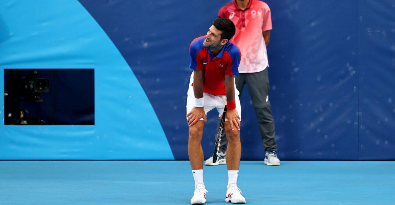 Novak Djokovic, Jeux olympiques de Tokyo 2020