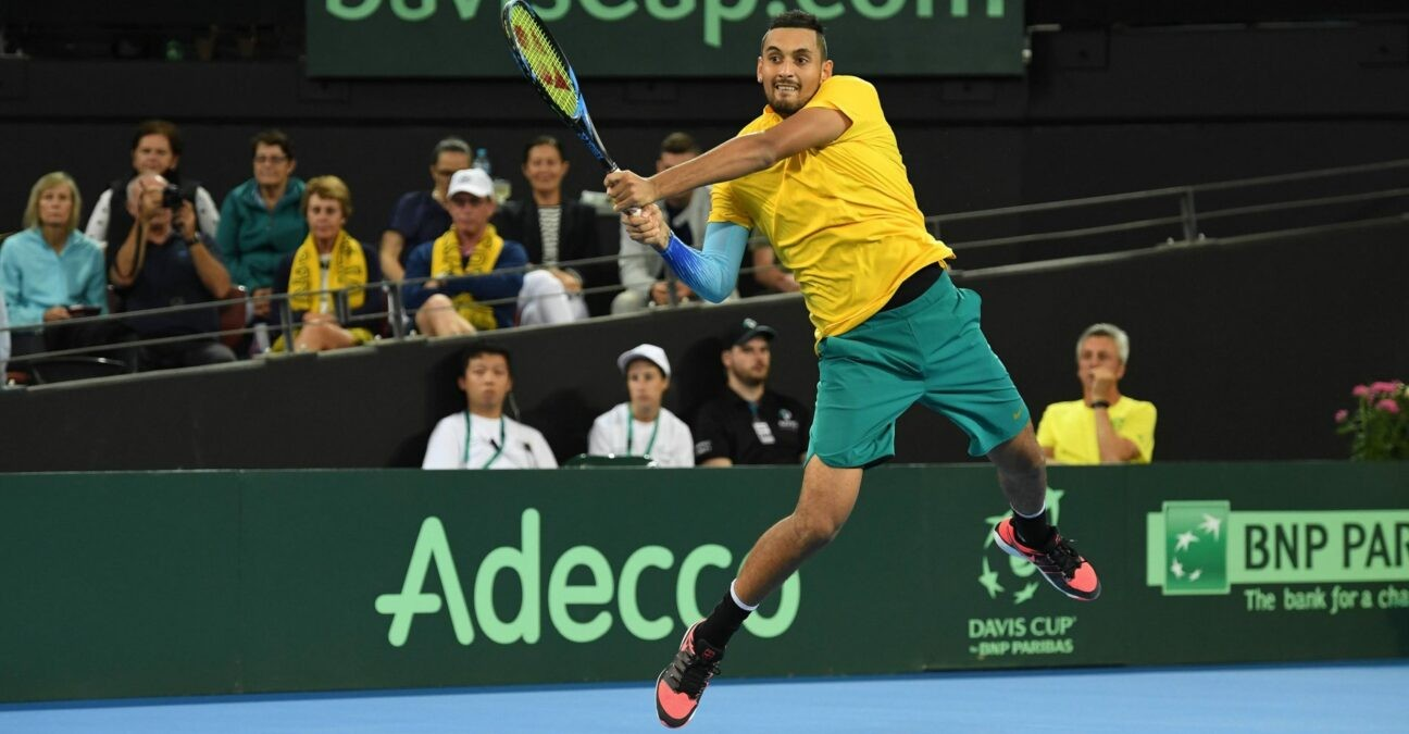 TENNIS: Australia vs Germany - Brisbane - Davis Cup - 02/02/2018