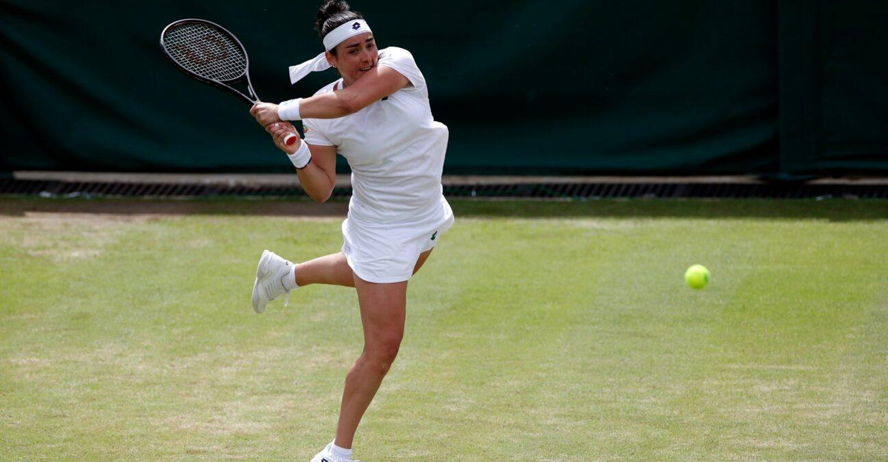 Ons Jabeur, Wimbledon 2021, huitièmes de finale