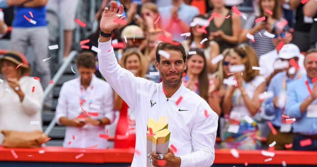 Rafael Nadal at Montreal in 2021