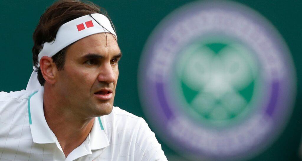 Roger Federer, Wimbledon 2021