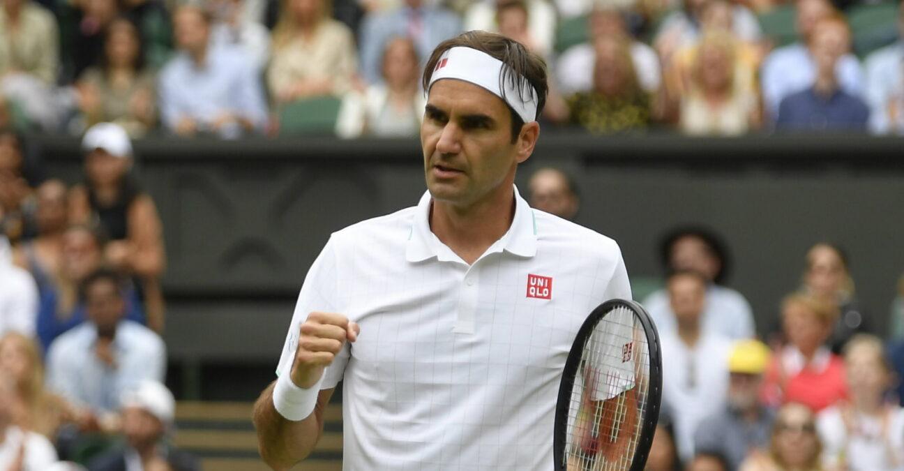 Roger Federer face à Cameron Norrie au troisième tour de Wimbledon 2021