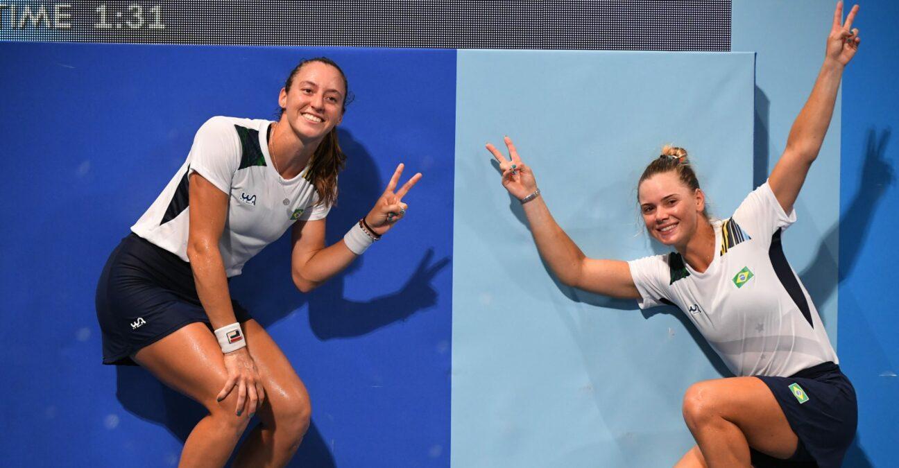 Luisa Stefani et Laura Pigossi, Jeux olympiques de Tokyo 2020