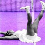 Serena Williams à Wimbledon en 2016, OTD